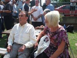 Mick Mcmanus and Helen Joynson