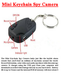 Mini key Chain Spy Camera