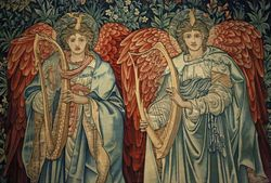 Burne-Jones, Singing Angels, 1898, Met