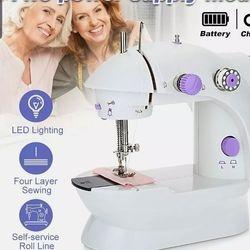 Portable mini sewing machine