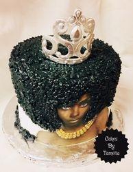 Afro  Cake