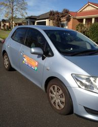 Driving School South Melbourne VIC 3205 - Toyota Corolla Hatch  - Automatic