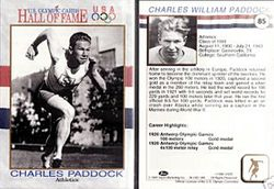 Olympic Hall of Fame Trading Card