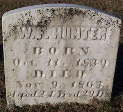 Pvt. William F. Hunter