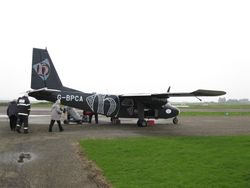 The inter-island plane service