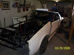 The 82 car gets a body