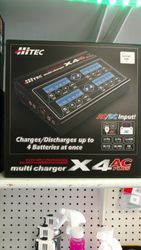 HITEC X4 4 PORT CHARGER
