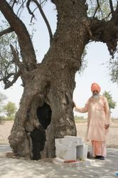 Shri 108 Sant Rama Nand Ji Maharaj by the Beree