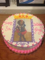 Photo picture cake Princess theme