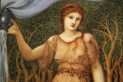 Burne-Jones, Earth Mother, 1882, Worchester
