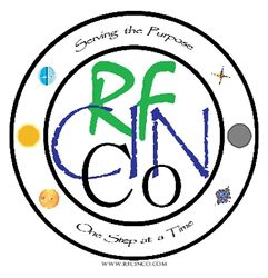 RFCINCo Family Badge w/slogan  (wht)