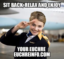 Sit back, relax and enjoy your Euchre.