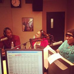 Terrell Carter & Demetria McKinney On Coco's Radio Show on May 4, 2013