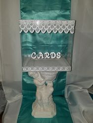 Clear Card Box w/stand