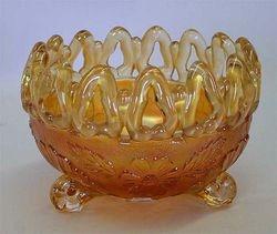 Wild Rose Open Edge rose bowl - marigold