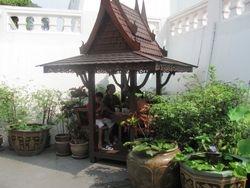 Meditation at the Golden Mountain in Bangkok