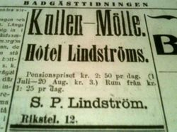 Hotell Lindstrom 1913