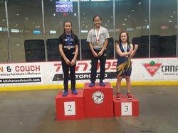 Jessica Hong - 1st place at Cadet Provincials 2017