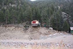 Flood Damage near Estes Park CO