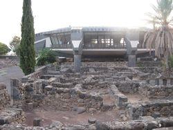 Iglesia erigida encima de casa de Pedro