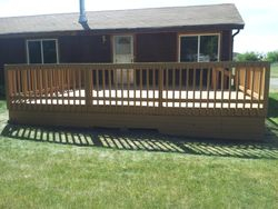 New Deck Railing