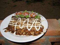 Enmoladas, a Mexican Speciality for events