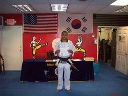 Quan Gordon Black belt class of 2011