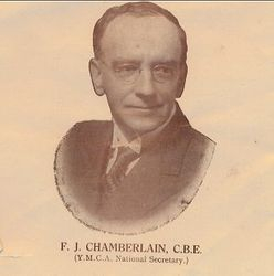 FT Chamberlain CBE YMCA National Secretary