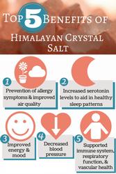 Benefits of Himalayan Salt Infograph