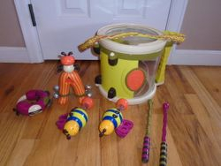 Parents Magazine Bee Bop Band Play & Learn Drum & Instruments - $20
