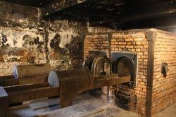 Incinerators at Auschwitz