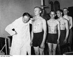 Deutsch Wehrmacht Rekruts:
