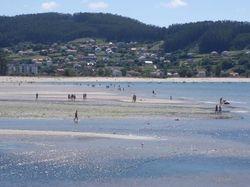 The beach at Cedeira