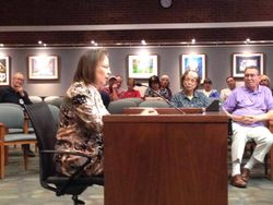 Joann Heckman testifying on behalf of Sierra Club supporting DRPS