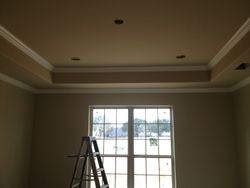 tray ceiling in master