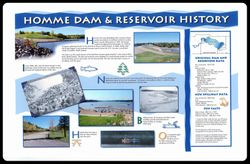 Homme Dam's History