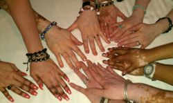 Caring - Sharing Hands of VITFriends