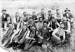 Linton Football Team, early 1900's