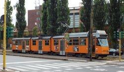 A Series 4900 Tram by OM Stanga.
