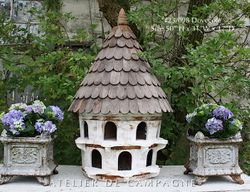SOLD #23/098A Half Round Dovecotes SOLD