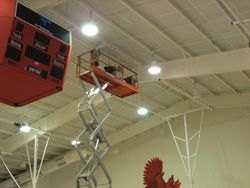 Mounting Speakers at Harmony Grove