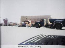 Cup-N-Saucer Truck Stop,Hempstead