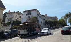 Cable Car #17 Descending Hyde Street.