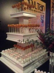 Basketball Tower Cake Pops