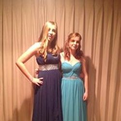 Stunning girls ready for the ball
