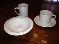 Coffee set and Bowl