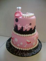 Monolo Blahnik shoe cake 2 (SP052)