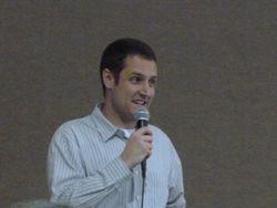 Folsom High Interact Club teacher, Eric Yoder