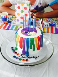 Art Studio Birthday Party