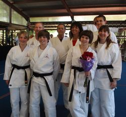 PCCS 1st Black Belt Team